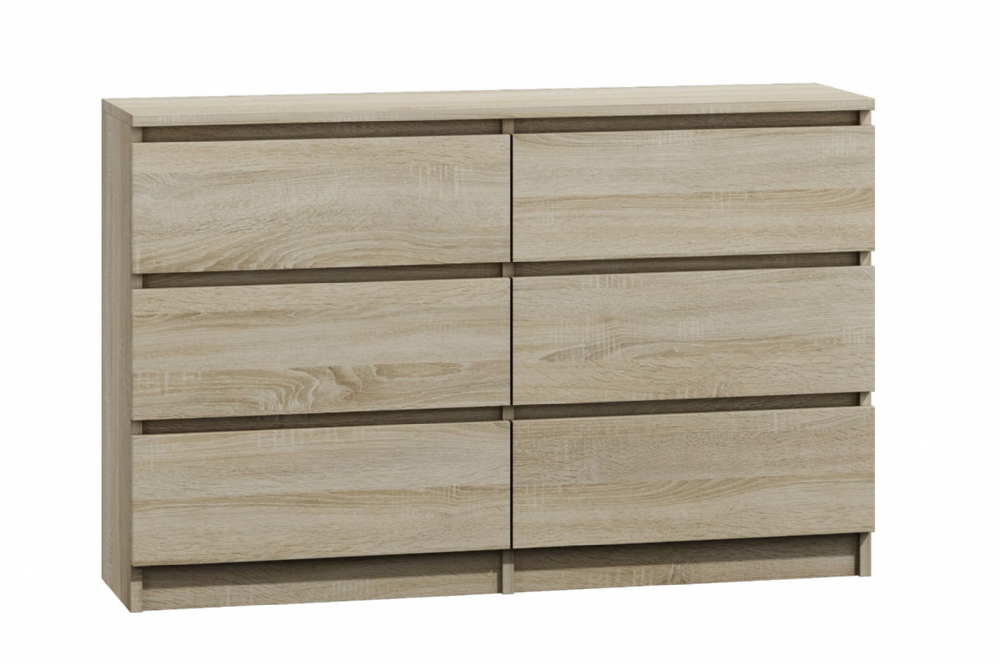 Moderna Sonoma - 6 Drawer